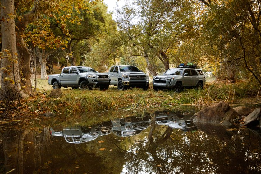 2021 Toyota Tacoma, Tundra and 4Runner Trail Edition 001