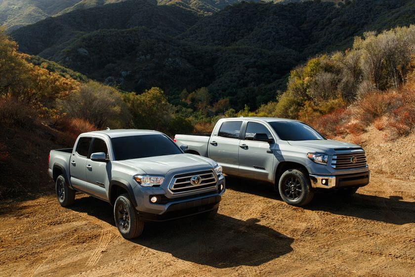 2021 Toyota Tacoma, Tundra and 4Runner Trail Edition 002
