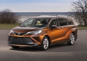 2021 Toyota Sienna Canadian Model
