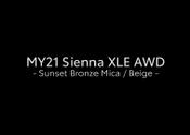 MY21 Sienna XLE AWD B_ROLL