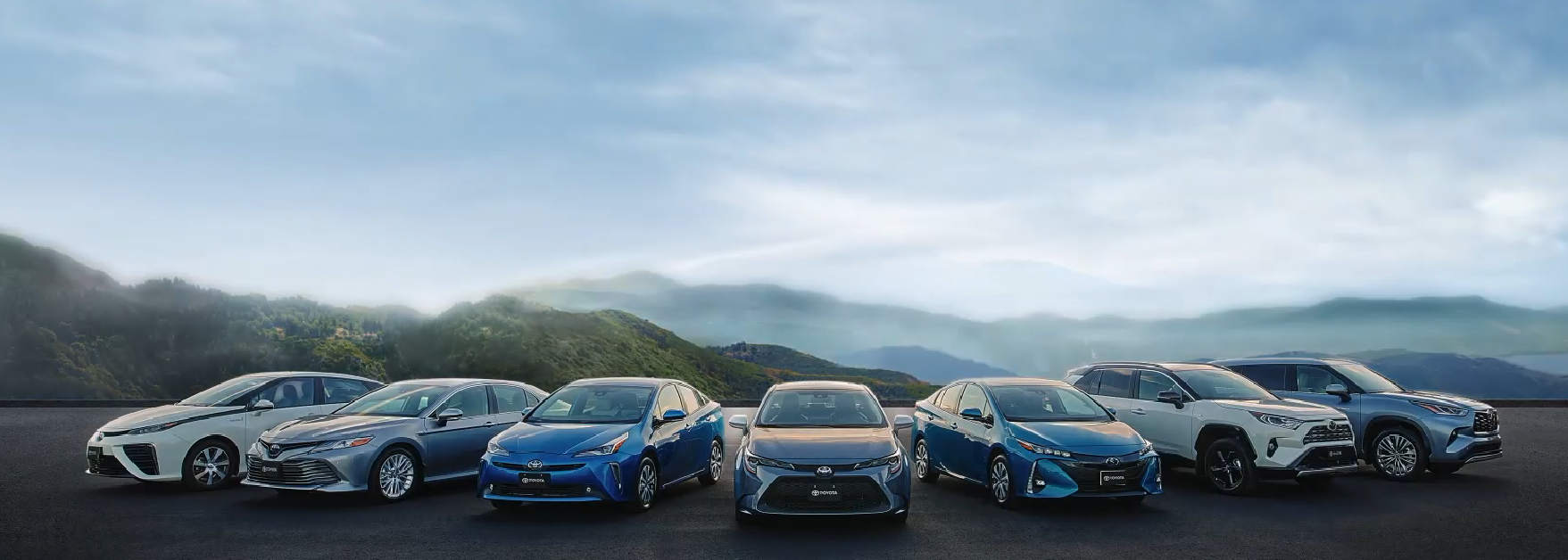 2020 Toyota Hybrid lineup