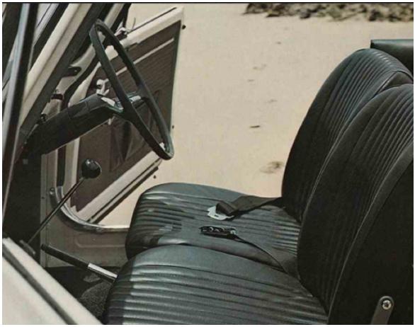 1960s Seatbelt