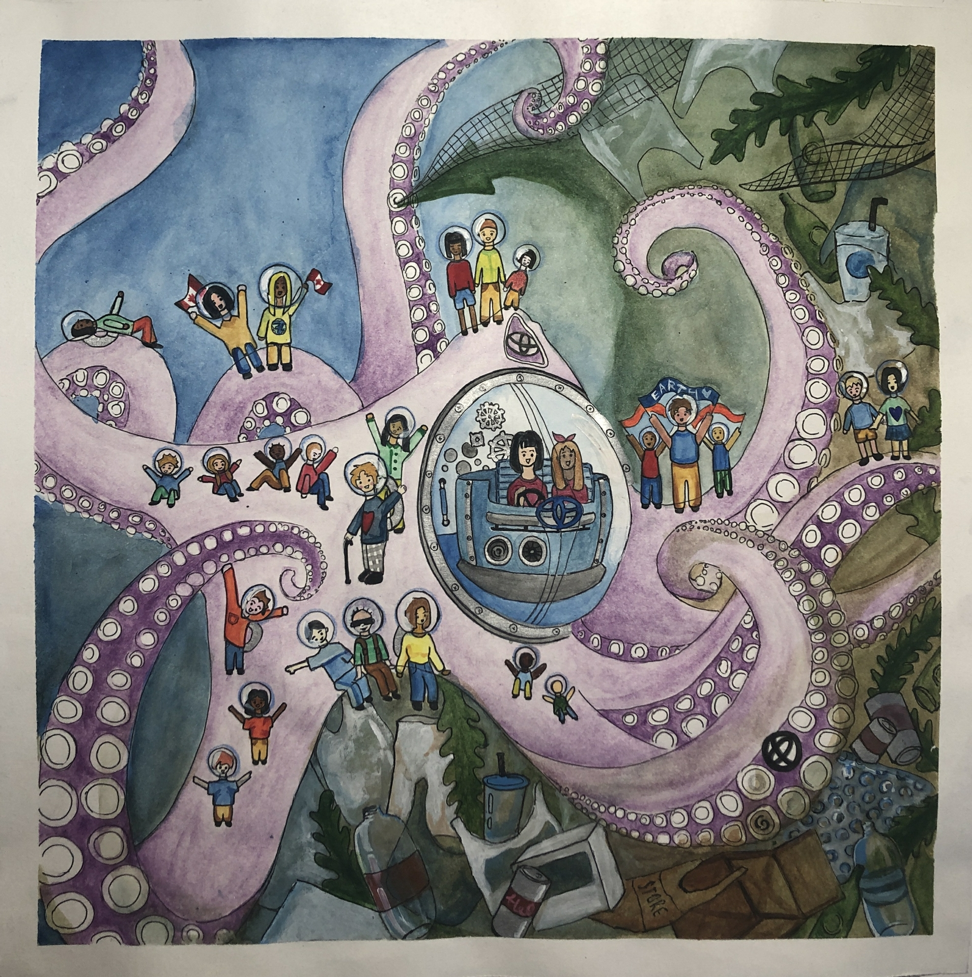 Tentacles of Hope- Isabella Pan