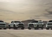2021 4Runner Tacoma Tundra and Sequoia TRD Pro Lunar Rock