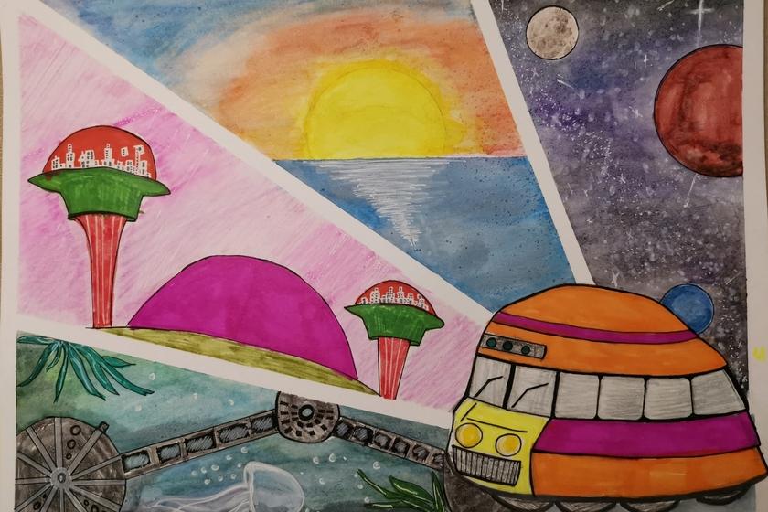 Magic School Bus- Maya Maksymenko