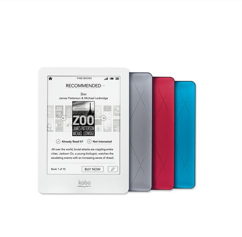 Kobo Glo - front and back - Hi Res