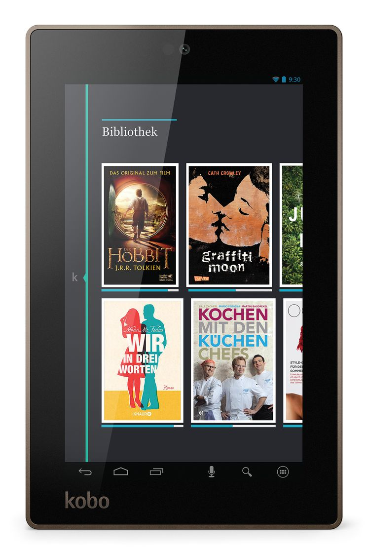 Kobo Arc 7 - Germany - Library