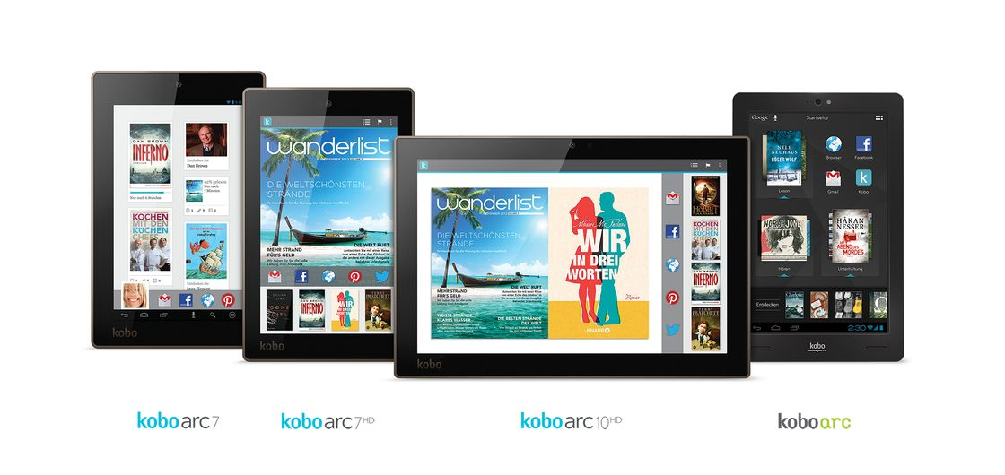 Germany - Kobo Arc Family