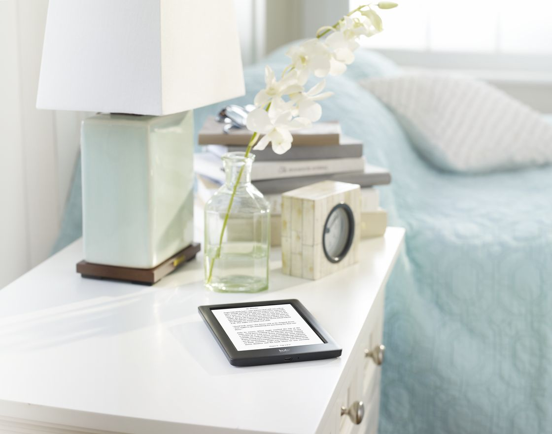 Lifestyle Image - Bedside Table With Books