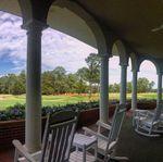 Pinehurst Country Club veranda