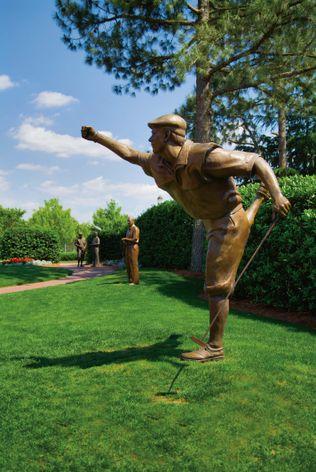 Payne Stewart Statue at Pinehurst Resort Club