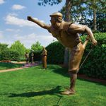 Payne Stewart Statue at Pinehurst Resort Club