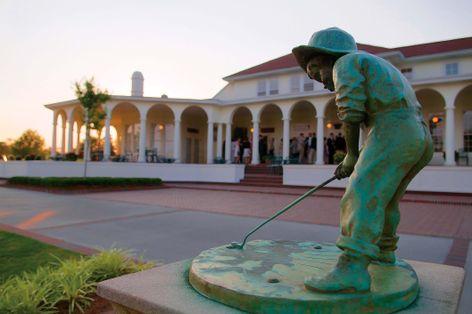 Putter Boy Statue at Pinehurst Resort Club