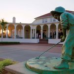 Putter Boy Statue at Pinehurst Resort Club