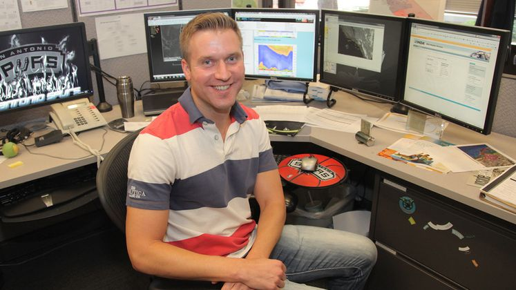 SCE Senior Meteorologist Paul Roller