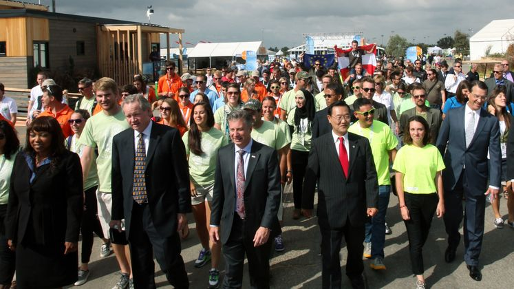 Solar Decathlon Opening Day