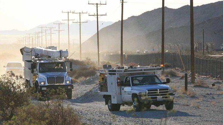 SCE trucks