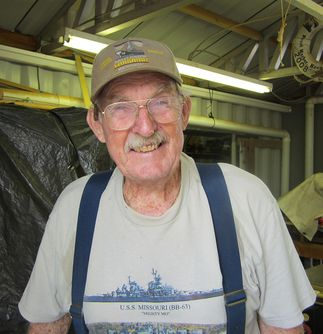 'Bob the Builder' Helps Keep Battleship Missouri Shipshape Ready