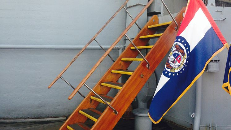 'Bob the Builder' - USS Missouri