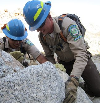 Post-9/11 Veterans Use Their Military Skills to Help Restore National Monument Trails