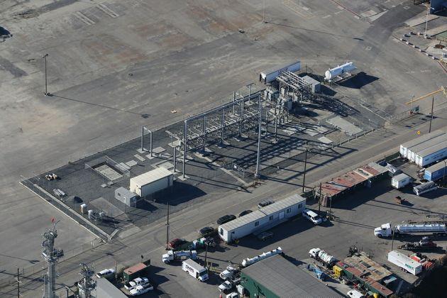 Long Beach Port Substation