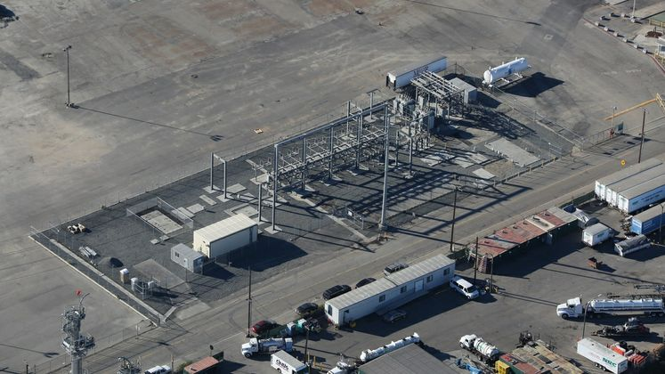 Long Beach Port Substation