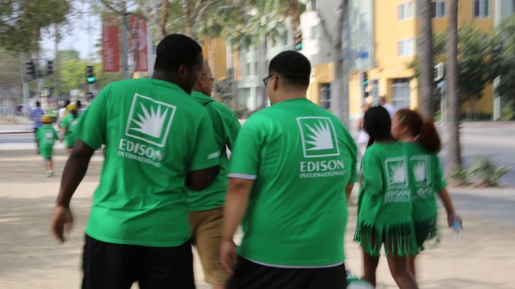 SCE Employees UNCF Walk for Education