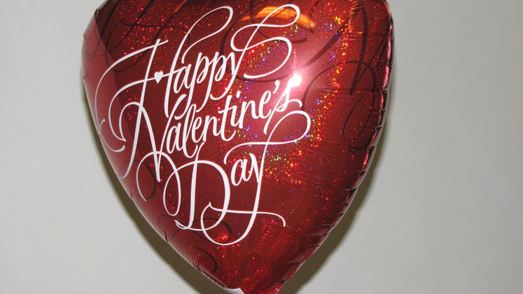 Valentine's Day Metallic Balloon Safety