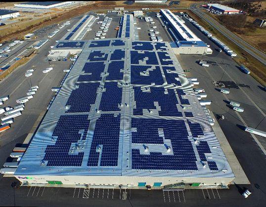 SoCore Energy Rooftop Solar Installation