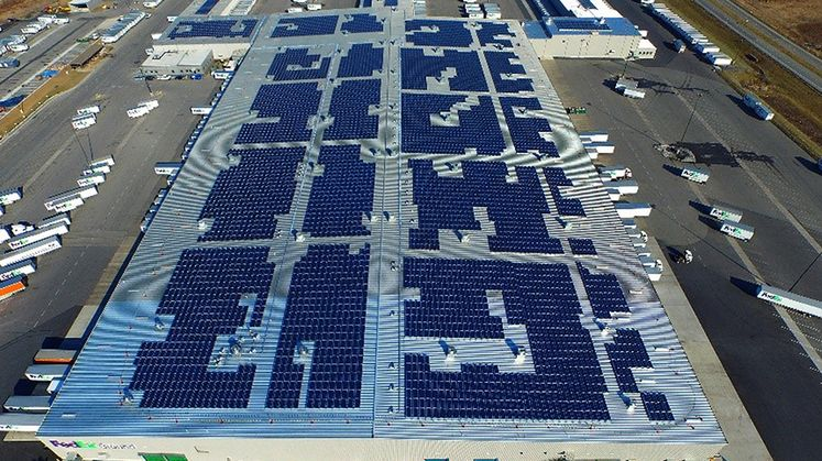 SoCore Energy Rooftop Solar Installation