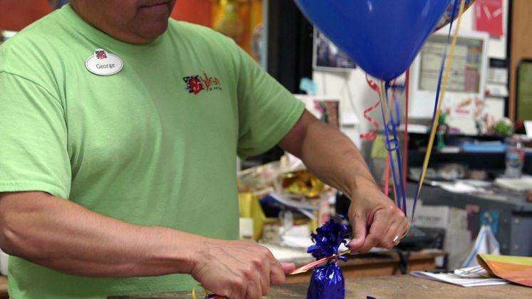 Mother's Day Metallic Balloon Safety