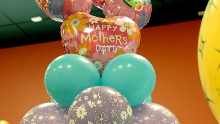 Mother's Day Metallic Balloon Safety