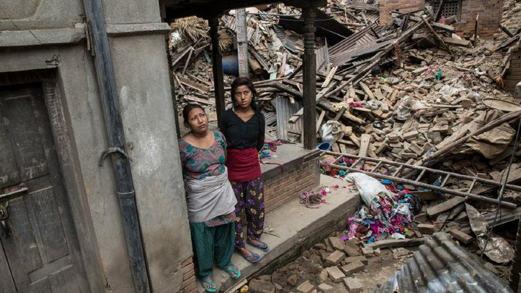 Nepal earthquake aftershocks