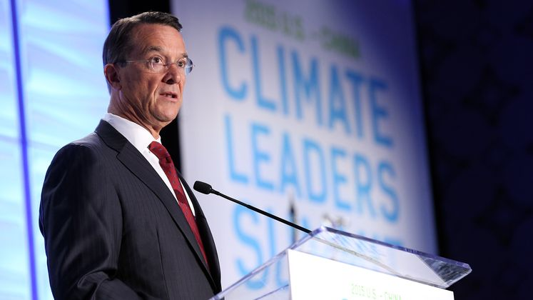 Craver Speaking at Climate Summit
