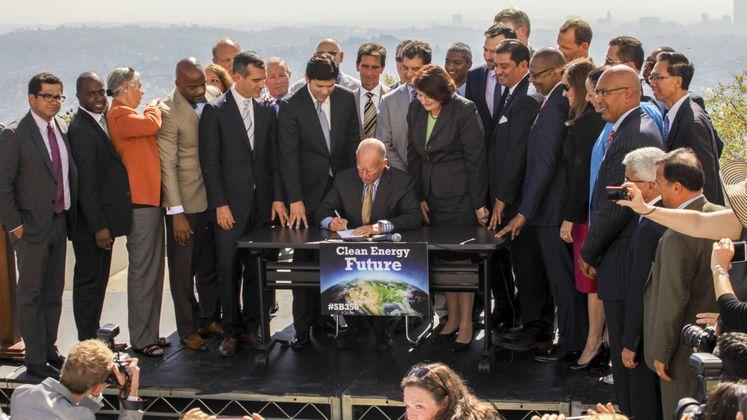 SB 350 Signing