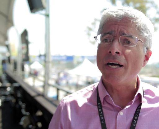 SCE President Pedro Pizarro at Formula E Long Beach ePrix