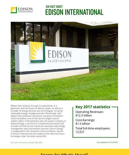 About Edison International