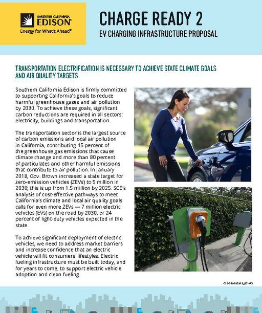 Charge Ready 2 EV Charging Infrastructure Proposal
