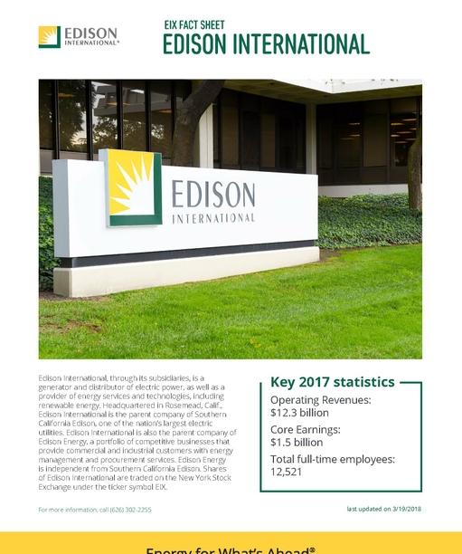 About Edison International