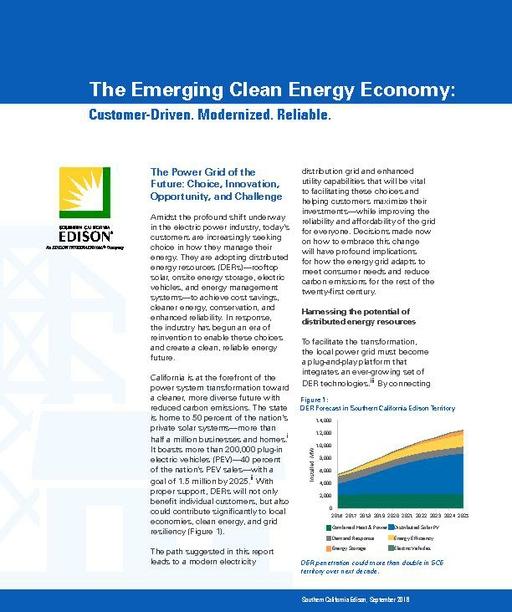 The Emerging Clean Energy Economy