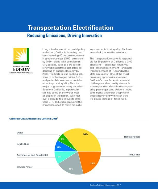 Transportation Electrification