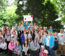 OR Heart Walk Group Photo