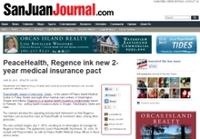 PeaceHealth, Regence ink new 2-year medical insurance pact