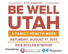 Be Well Utah 2013