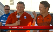 Healthy food, lifestyles promoted at Be Well Utah fair