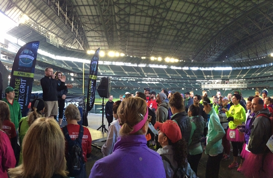 Helping to dance our way to a cure through the Seattle Urban Trek