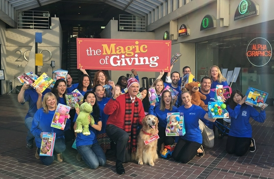 Toy Drive Commercial Group Shot Blog