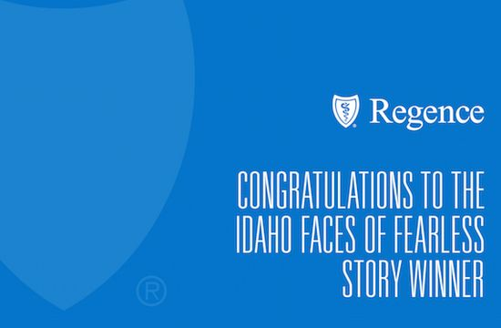 Faces of Fearless winner - Regence BlueShield of Idaho
