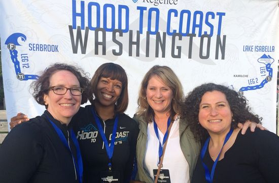Hood to Coast Washington 2017:  Teamwork, community and values