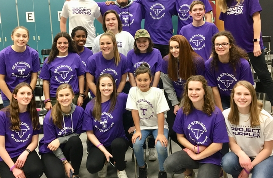 "Rival High Schools ""Go Purple"", Commit to Standing Up to Substance Abuse"